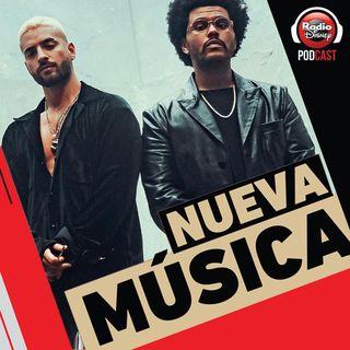 06/11| Maluma & The Weeknd, Luciano Pereyra, Pablo Alborán, Little Mix y más novedades.