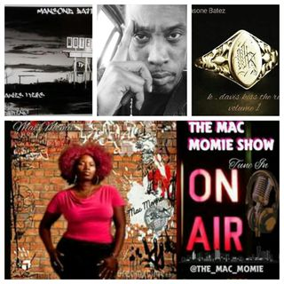 THE MAC MOMIE SHOW LIVE ON EXTREAM97.2FM LIVE MANSONE BATEZ INTERVIEW