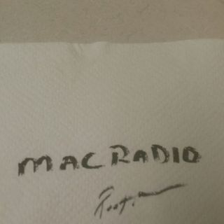 """MAC RADIO sHoW / """" """" Mad AVE. LOST TAPES"""