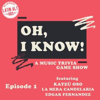 Episode 1 - The Pilot: Katzu Oso vs. La Mera Candelaria vs. Edgar Fernandez