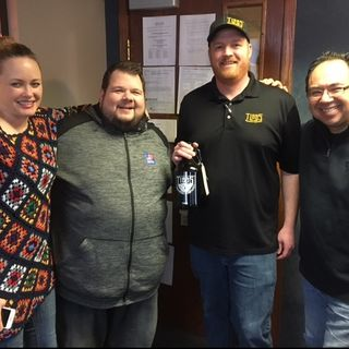 BTM with Tibbs Brewing on WOOD Radio
