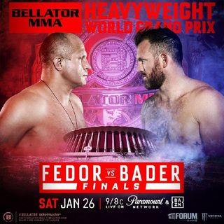 Bellator 214 Heavyweight Grand Prix Final Fedor v Ryan Bader