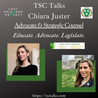TSC Talks! Chiara Juster, Advocate & Strategic Counsel~Educate. Advocate. Legislate.