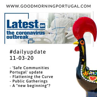 Coronavirus Update 11-03-20 (For Portugal in English)