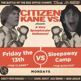 Friday the 13th vs Sleepaway Camp