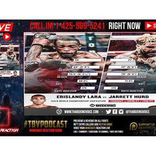 🔴Erislandy Lara vs Jarrett Hurd LIVE FIGHT CHAT🔊🔥🥊