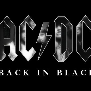 ROCK AC DC BACK IN BLACK