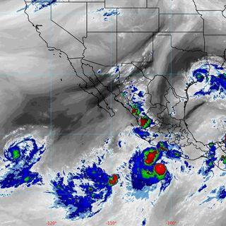 Tormenta tropical ocasiona lluvias intensas en Guerrero y Oaxaca