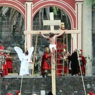 Concluyó la representación y crucifixión de Cristo Jesús en Iztapalapa