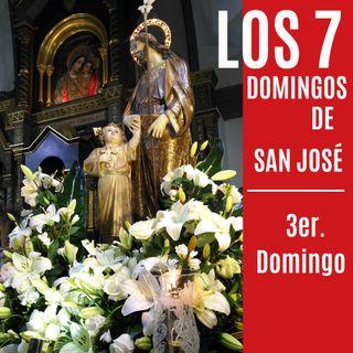 Siete Domingos de San José  3er. Domingo