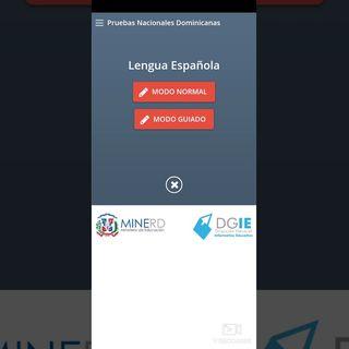 Aplicación para Estudiar Las Pruebas Nacionales DOMINICANA - Gliseline