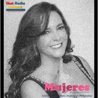 """El éxito en boca de María Fernanda García; Actriz, locutora y escritora en """"Mujeres Shotradio"""""""