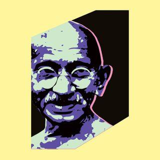 Mahatma Gandhi – fredsapostel på blodbestänkt väg