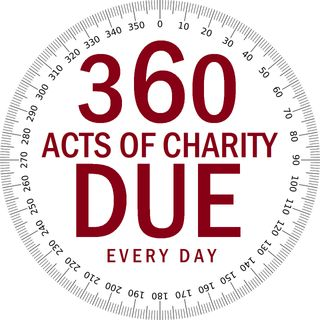 40H#26: 360 Acts of Charity Due Every Day (Part 3 of 3)