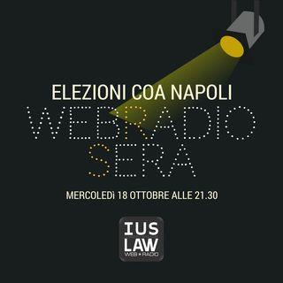 WebRadioSera - Elezioni Forensi COA Napoli