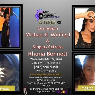 Rhona Bennett and Mike Winfield on Brunch in the Basement with JaVonne & Terez