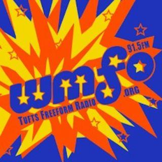 Chuck Morse broadcasts live at WMFO 91.5 AM - Tufts University