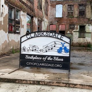 Nel Mississippi Delta, a Clarksdale, 'Home of the Blues'    Di Gina Di Meo