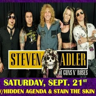 Steven Adler Interview with Raven Cade on 105.3 The Eagle