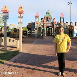 June Wolfe: Stewart Vincent Wolfe Creative Playground in Yuma, Arizona