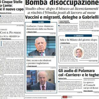 BUONGIORNO FORMALBA del 1.03.2021 con Marco Giustinelli