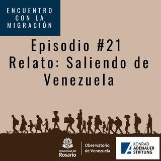 La salida de Venezuela