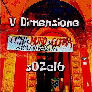 Contro il muro di gomma dell'Università - V DImensione - s02e16