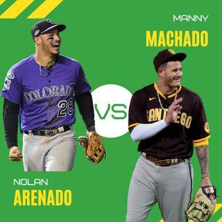 Manny Machado vs Nolan Arenado: Debate beisbolero