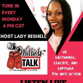 Tiah Tomlin /Warrior Talk Radio