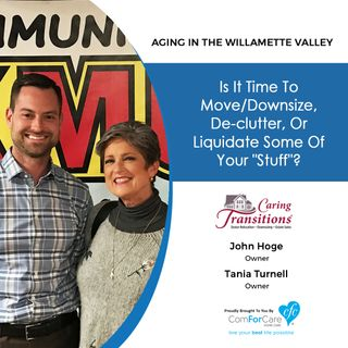 4/24/18: John Hoge and Tania Turnell from Caring Transitions | Is it time to move/downsize, declutter, or liquidate some of your stuff?