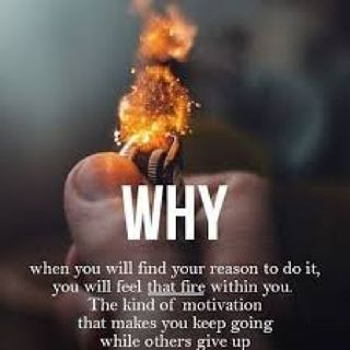 "This Is My Story... What Is Your ""Why""? Why Keep Pushing Forward?"