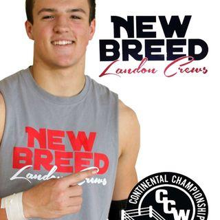 """Let's Talk Sports JG Boyz Feat. CCW SUPERSTAR Landon """"New Breed"""" Crews"""