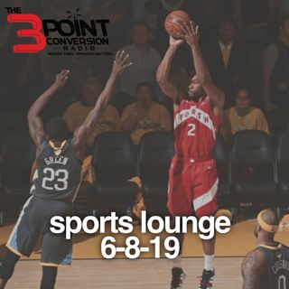 The 3 Point Conversion Sports Lounge- NBA Finals Bullies, Brooklyn Nets Interesting Offseason, Carson Wentz Mega Deal,  MLB Signings