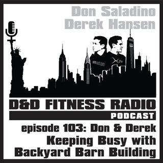 Episode 103 - Don & Derek:  Keeping Busy with Backyard Barn Building