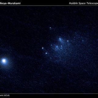 292-Disintegrating Comet