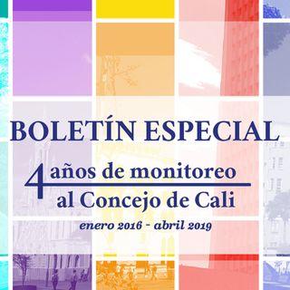 Balance Concejo Cali 20016-2019