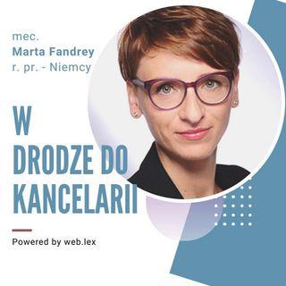 Rynek usług prawniczych w Niemczech - wywiad z panią mec. Martą Fandrey (Langenfeld)