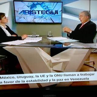 CNN. Carmen Aristegui y Bernardo Sepúlveda 1 Tema Venezuela
