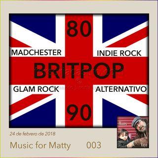 BRITPOP, MADCHESTER y otras maravillas británicas de los 80 y 90.