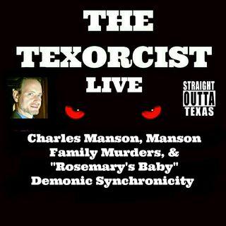 "Charles Manson, Manson Family Murders, & ""Rosemary's Baby"" Demonic Synchronicity"