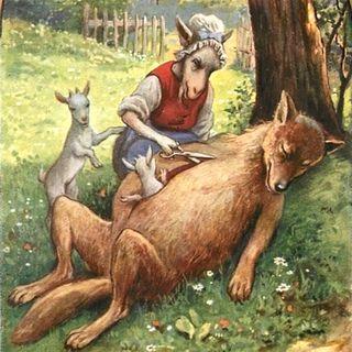 Fratelli Grimm: Il lupo e i sette caprettini
