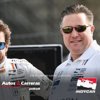 #Indy #F1 Zak Brown en rueda de prensa