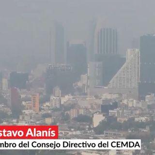 Daños por PM2.5 según el INER; menos recursos a cambio climático; pronunciamiento sobre Javier Valdez