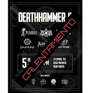 Programa - 29-SEP-19 - CALENTANDO PARA EL DEATHHAMMER II