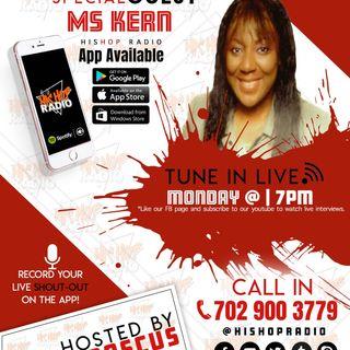 EPISODE 56  - HIS HOP RADIO SHOW - MS.KERN @HISHOPMUZIC