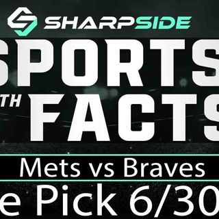 FREE MLB Sunday Night Baseball Betting Pick: Mets vs. Braves - June 30