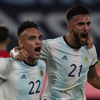Nicolás González empata el partido para Argentina