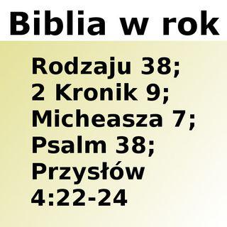 038 - Rodzaju 38, 2 Kronik 9, Micheasza 7, Psalm 38, Przysłów 4:22-24