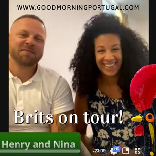 Portugal news, weather & today: Brits Henry & Nina on their Portuguese tour