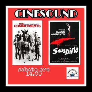 CINESOUND Il Cinema da Vedere e Ascoltare con Giuseppe Spataro ed Antonio Buoso  *THE COMMITMENS &  *SUSPIRIA  ON AIR